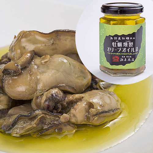 牡蠣燻製オリーブオイル漬
